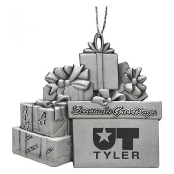 University of Texas at Tyler - Pewter Gift Package Ornament