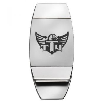 Tennessee Technological University - Two-Toned Money Clip - Silver