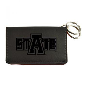 Velour ID Holder-Arkansas State University-Black