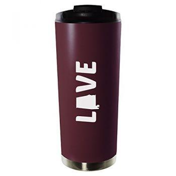 16 oz Vacuum Insulated Tumbler with Lid - Alabama Love - Alabama Love
