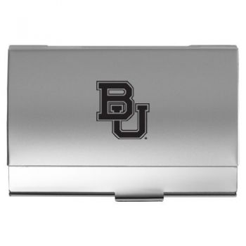 Baylor University - Pocket Business Card Holder