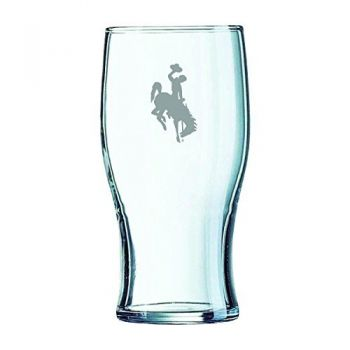 University of Wyoming-Irish Pub Glass