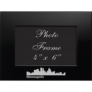 4 x 6  Metal Picture Frame - Minneapolis City Skyline