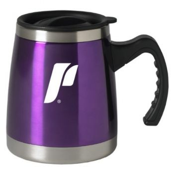 University of Portland - 16-ounce Squat Travel Mug Tumbler - Purple