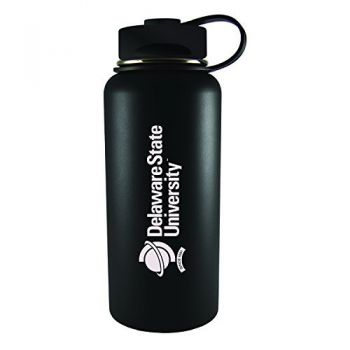 Delaware State University -32 oz. Travel Tumbler-Black