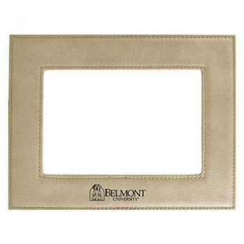 Belmont University-Velour Picture Frame 4x6-Tan
