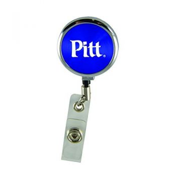 University of Pittsburgh-Retractable Badge Reel-Blue