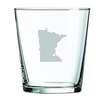 13 oz Cocktail Glass - I Heart Minnesota - I Heart Minnesota