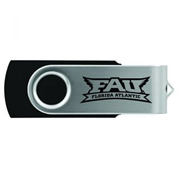 Florida Atlantic University -8GB 2.0 USB Flash Drive-Black