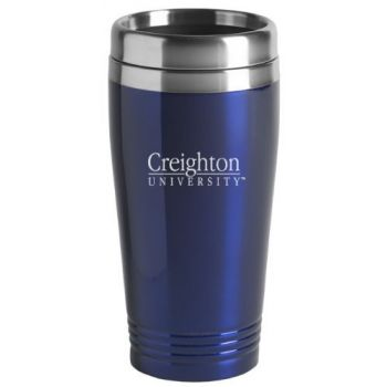 Creighton University - 16-ounce Travel Mug Tumbler - Blue