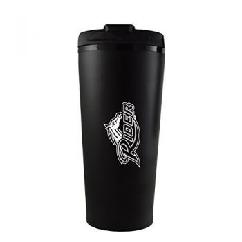 Rider University -16 oz. Travel Mug Tumbler-Black