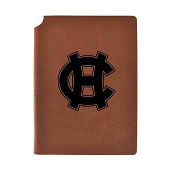 College of the Holy Cross Velour Journal with Pen Holder|Carbon Etched|Officially Licensed Collegiate Journal|