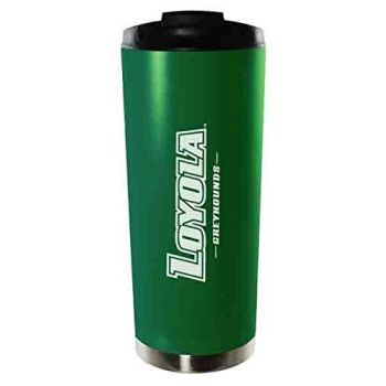 Loyola University Maryland-16oz. Stainless Steel Vacuum Insulated Travel Mug Tumbler-Green
