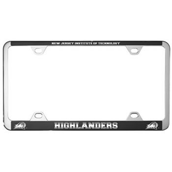 New Jersey institute of Technology-Metal License Plate Frame-Black