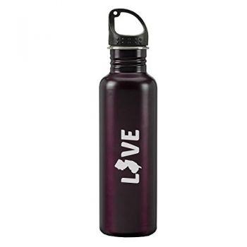 24 oz Reusable Water Bottle - New Jersey Love - New Jersey Love