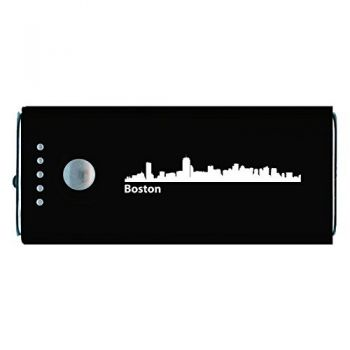 Quick Charge Portable Power Bank 5200 mAh - Boston City Skyline