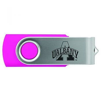 University of Albany-8GB 2.0 USB Flash Drive-Pink