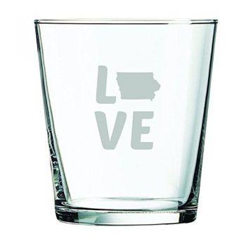 13 oz Cocktail Glass - Iowa Love - Iowa Love