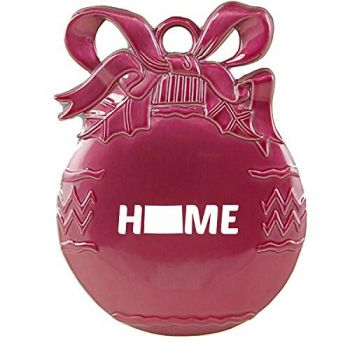 Colorado-State Outline-Home-Christmas Tree Ornament-Pink