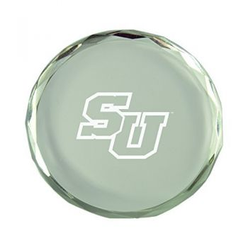 Stetson University-Crystal Paper Weight