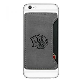 University of Arkansas at Pine Buff-Cell Phone Card Holder-Grey