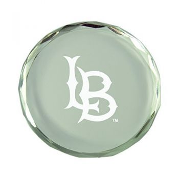 Long Beach State University-Crystal Paper Weight