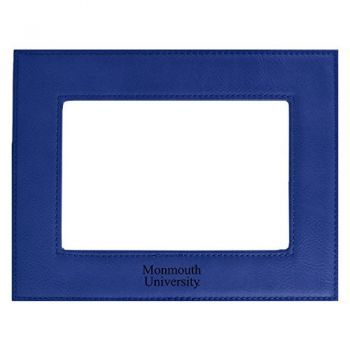 Monmouth University-Velour Picture Frame 4x6-Blue