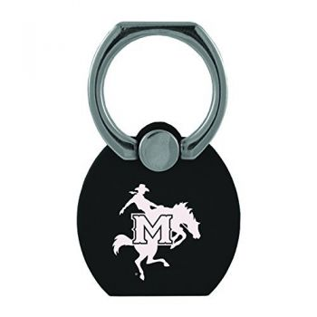 McNeese State University|Multi-Functional Phone Stand Tech Ring|Black