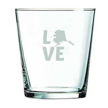 13 oz Cocktail Glass - Alaska Love - Alaska Love