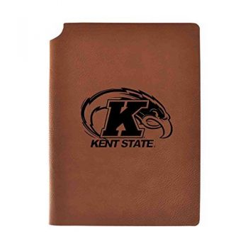 Kent State University Velour Journal with Pen Holder|Carbon Etched|Officially Licensed Collegiate Journal|