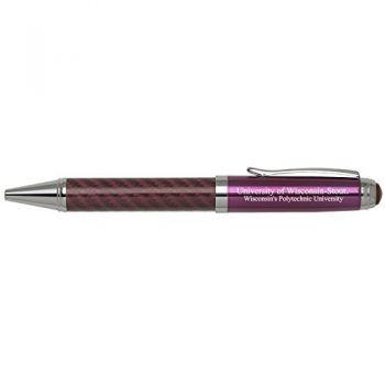University of Wisconsin-Stout-Carbon Fiber Mechanical Pencil-Pink