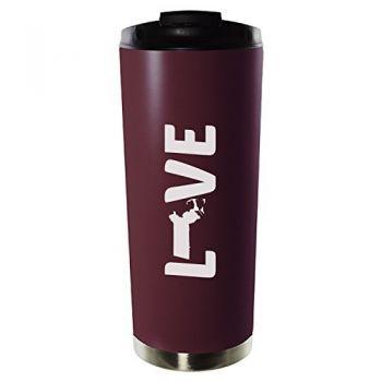 16 oz Vacuum Insulated Tumbler with Lid - Massachusetts Love - Massachusetts Love