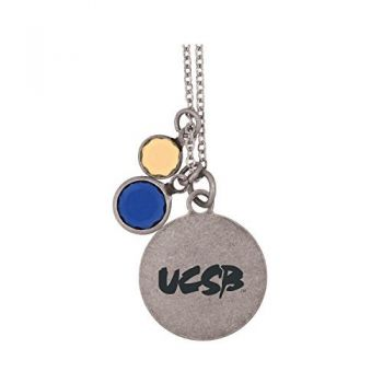 University of California, Santa Barbara-Frankie Tyler by LXG Charmed Necklace