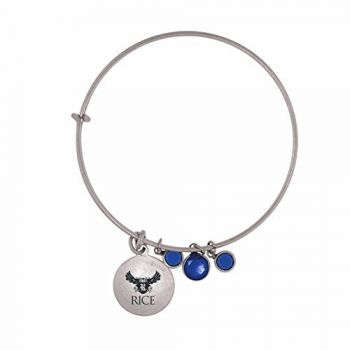 Rice University-Frankie Tyler Charmed Bracelet
