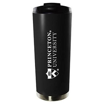 Princeton University-16oz. Stainless Steel Vacuum Insulated Travel Mug Tumbler-Black