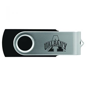 University of Albany-8GB 2.0 USB Flash Drive-Black