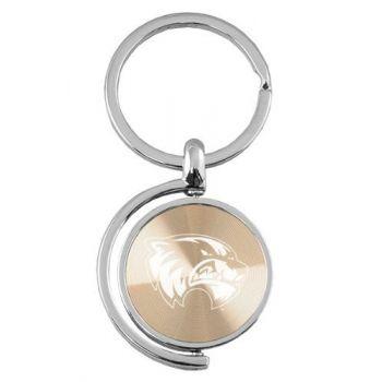 Utah Valley University - Spinner Key Tag - Gold