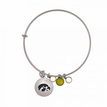 University of Iowa-Frankie Tyler Charmed Bracelet