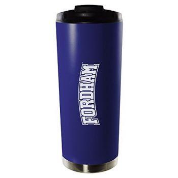 Fordham University-16oz. Stainless Steel Vacuum Insulated Travel Mug Tumbler-Blue
