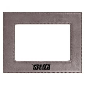 Siena College-Velour Picture Frame 4x6-Grey