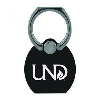 University of North Dakota|Multi-Functional Phone Stand Tech Ring|Black