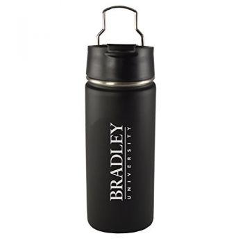 Bradley University -20 oz. Travel Tumbler-Black