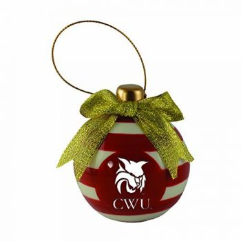 Central Washington University -Christmas Bulb Ornament