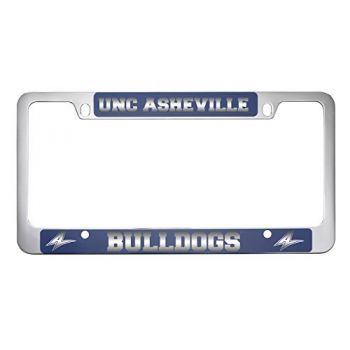 University of North Carolina at Asheville-Metal License Plate Frame-Blue