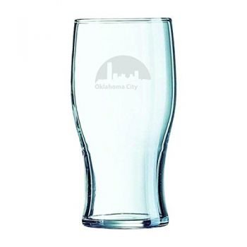 Oklahoma City, Oklahoma-19.5 oz. Pint Glass