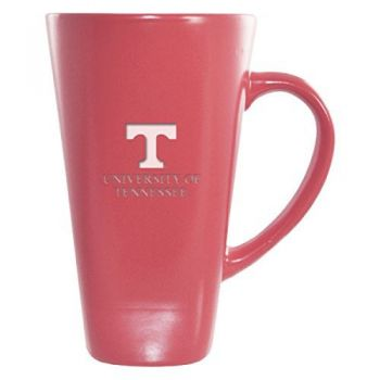 University of Tennessee -16 oz. Tall Ceramic Coffee Mug-Pink