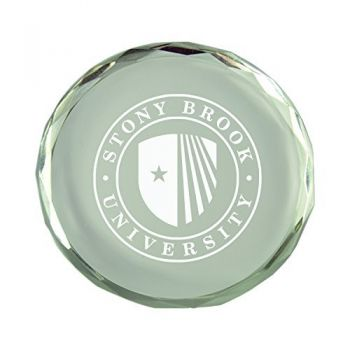 Stony Brook University-Crystal Paper Weight