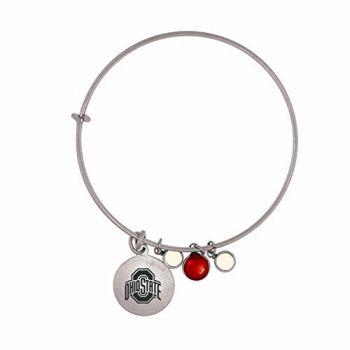 Ohio State University-Frankie Tyler Charmed Bracelet