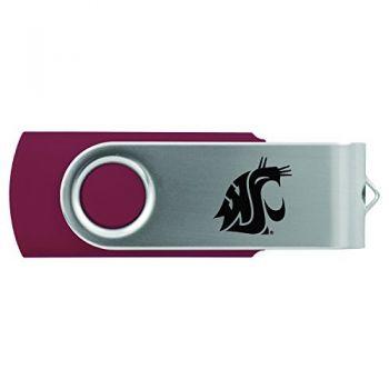 Washington State University -8GB 2.0 USB Flash Drive-Burgundy