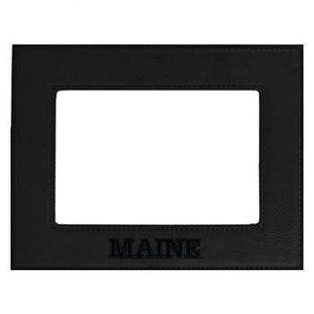 University of Maine-Velour Picture Frame 4x6-Black